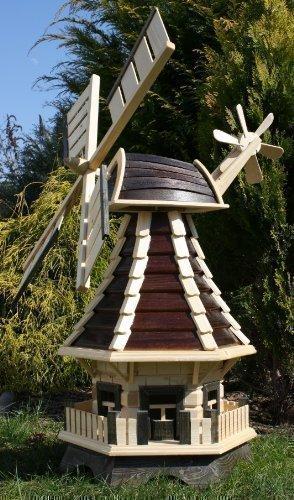 Schöne Windmühle, Windmühlen braun/natur Typ 1