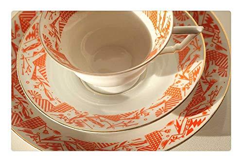 Bavaria Coffee - Tree26 Indoor Floor Rug/Mat (23.6 x 15.7 Inch) - Builds Bavaria 35 Coffee Party Old Ladies Porcelain