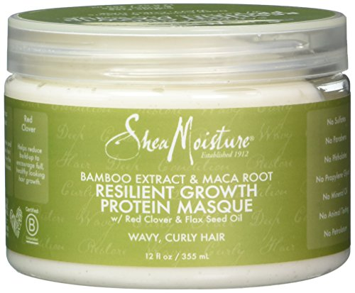 Shea Moisture Bamboo Extract & Maca Root Resilient Growth Pr