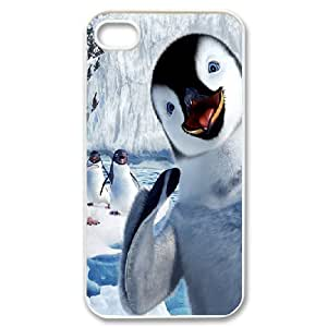 Sexyass Happy Smiling Face IPhone 4/4s Cases Happy Feet, Men Cool Happy Smiling Face, {White}