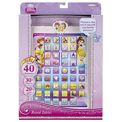Disney Princess Royal Tablet: Toys & Games