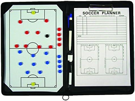 TeamGear Portfolio Soccer Magnetic Clipboard