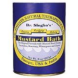 Dr. Singha's Mustard Bath 8 oz Pwdr