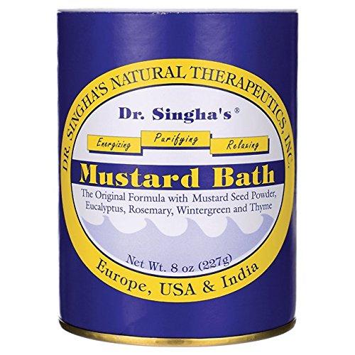 Dr. Singha's Mustard Bath 8 oz Pwdr Dr. Singha' s