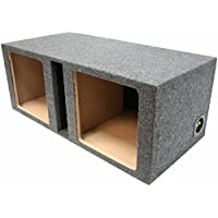 ASC Dual 12 Subwoofer Kicker Square L3 L5 L7 Vented Port Sub Box Speaker Enclosure