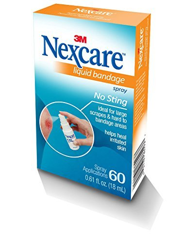 Nexcare No-Sting Liquid Bandage .61 fluid ounces - Buy Packs and SAVE (Pack of 2)