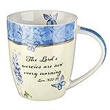 Butterfly Inspirational Mug - Lamentations 3:22-23