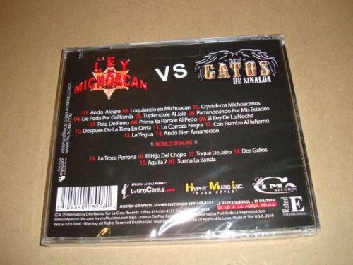 La Ley De Michoacan vs Los Gatos De Sinaloa (Audio CD) - La Ley De Michoacan Vs Los Gatos De Sinaloa (Audio Cd) - Amazon.com Music