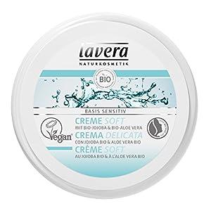 lavera Crème Au beurre de karité bio & à l'amande bio (petite taille) • Vegan • Cosmétiques naturels • Ingrédients…