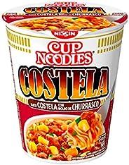 Cup Noodles Sabor Costela com Molho De Churrasco Nissin 68g