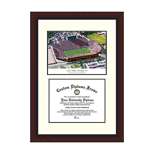 Campus Images NCAA University of Iowa: Kinnick Stadium Legacy Scholar Frame by Campus Images