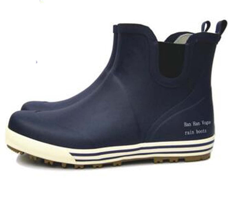 Lover Couple Women&Men Ankle Short Rainboots men&women