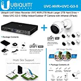 Ubiquiti UniFi Video Camera UVC-NVR + UniFi UVC-G3-5 5PACK IP Camera
