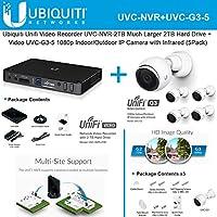 Ubiquiti UniFi Video Camera UVC-NVR + UniFi UVC-G3-5 5PACK IP Camera