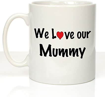 Mother/'s Day Gift Mum For Her Personalised Mummy and Me Ceramic Fox Mug