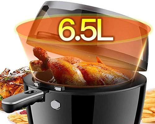 6.5 Liter Fat Fryer, met venster, Easy Clean, verstelbare Temperature Control, for een gezonde Oil Free Or Low Fat Cooking, 1500W AQUILA1125