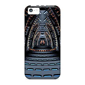Bernardrmop Iphone 5c Hybrid Tpu Case Cover Silicon Bumper Space Concert Hall