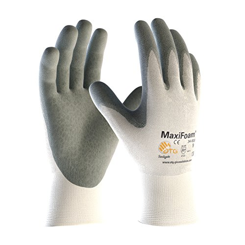 (PIP Protective Industrial Products 34-800-S PIP 34-800-S White Nylon Gloves, S, White)