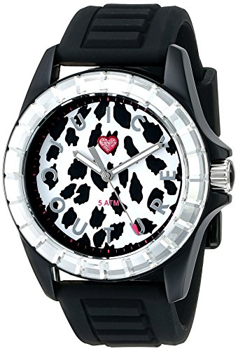 Juicy Couture Women's 1901160 Juicy Sport Analog Display Quartz Black Watch