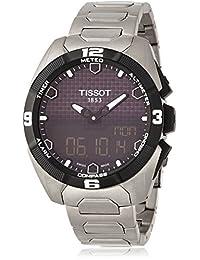 Tissot Men's T-Touch T091.420.44.051.00 Silver Titanium Swiss Quartz Watch