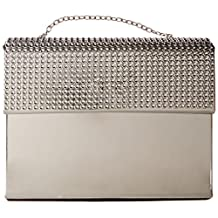 The Metropolitan Museum of Art Purse Notepad with Lipstick Pen, Silver (MP17716) Silver