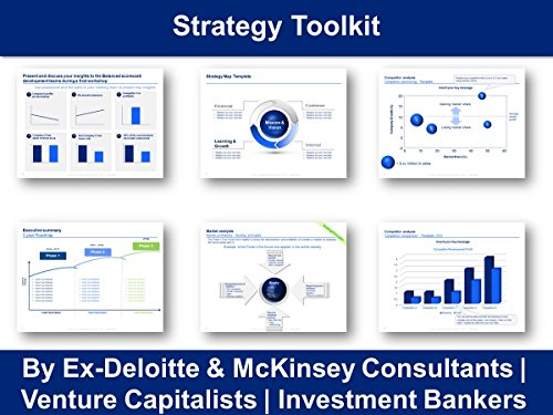 Amazon Strategy Toolkit In Powerpoint Excel By Ex Deloitte