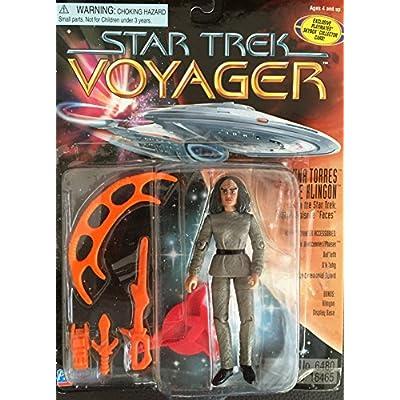 Star Trek Voyager B Elanna Torres - The Klingon 4 inch Action Figure: Toys & Games