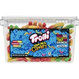 Trolli Sour Brite Crawlers Gummy Worms, 3.96 Pound