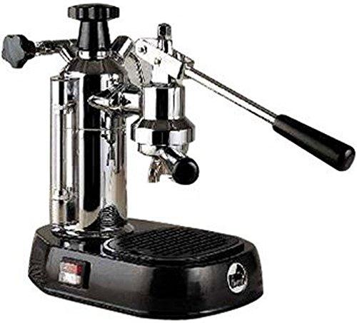 La Pavoni EPBB-8 Europiccola 8-Cup Lever Style Espresso Machine, Black Base by La Pavoni