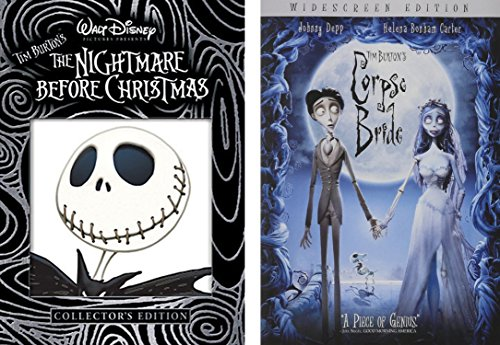 [Tim Burton 2-DVD Bundle Corpse Bride & Nightmare Before Christmas (Collector's Edition) Bundle] (Halloween Sesame Street)