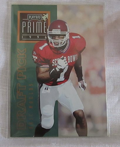 ERIC MOULDS NFL COLLECTIBLE TRADING CARD - 1996 PLAYOFF PRIME