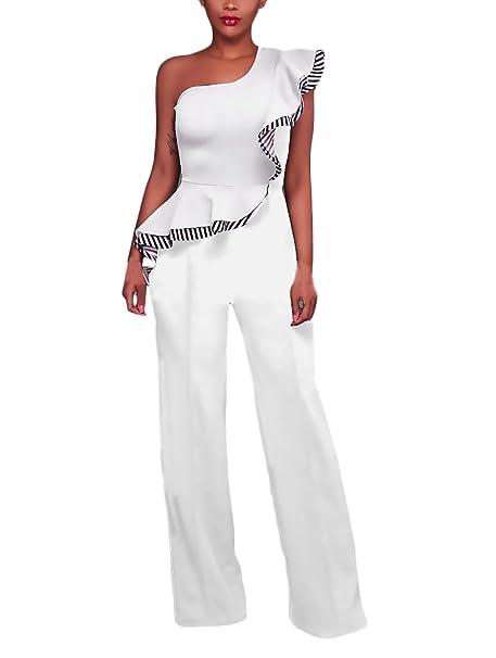 newest 0e371 2ea1e Huixin Tute Donna Eleganti da Cerimonia Lunghi Jumpsuit ...