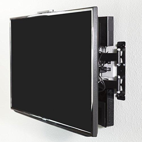 Very best HIDEit Uni-SW (Black) Adjustable Small Device Wall Mount, Wii  BM19