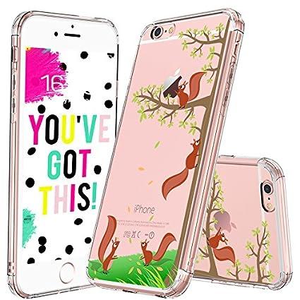 Amazon.com: Funda para iPhone 6, Serie Cute, Ardilla: Cell ...