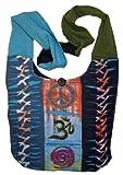 Sacred Symbols Criss Cross Handbag Sling Purse