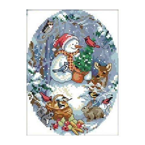 Ladybug Birth Announcements - Package - Nocm Cross Stitch Kits The Snowman 39 S Friends 11ct Stamped Light Blue Multicolor - Stitching Rainbow Anniversary Yarn Geometric Intermediate Ladybug Record Known Kinkade Nurs