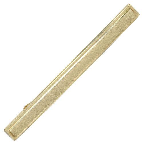 Alfiler de corbata corbatas diapositiva 333 oro amarillo ...