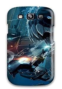 1560899K23345340 High-end Case Cover Protector For Galaxy S3(aqua Sapiens)
