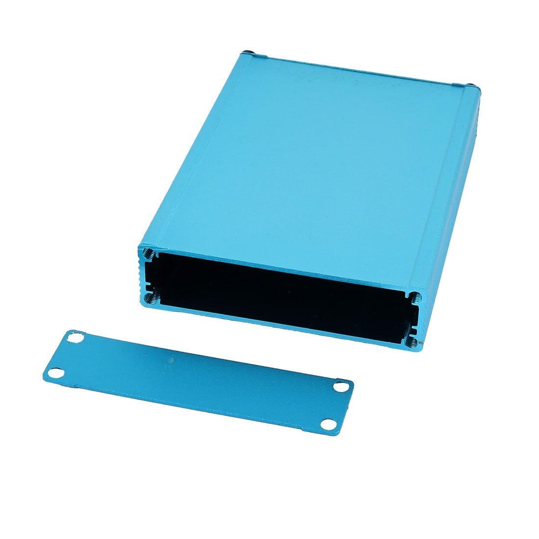 Amazon.com: eDealMax 21 x 80 x 110 mm multiuso electrónica de aluminio extruido recinto Azul: Electronics