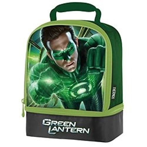 Dual Lanterns - THERMOS Green Lantern Dual Compartment Lunch Kit