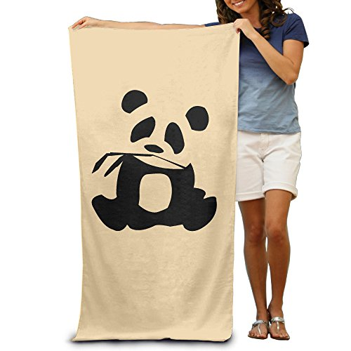 LCYC Panda Is My Sprit Animal Adult Vibrant Beach Or Pool Hooded Towel (Custom Dance Costumes Makers)