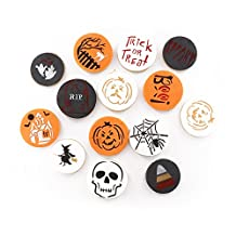 Halloween Decoration Stencil Cookie Mold, Food Grade Plastic, Pack of 14 Pieces Cookie Stencil