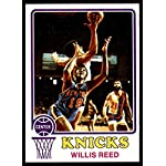 Basketball NBA 1973-74 Topps #105 Willis Reed EX/NM Knicks