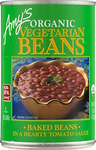 Amy's Beans, Organic Traditional Vegetarian Baked Beans, 15 Ounce Review