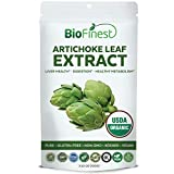 Biofinest Artichoke Leaf Extract Powder - USDA Certified Organic Pure Gluten-Free Non-GMO Kosher Vegan Friendly - Supplement for Healthy Metabolism, Digestion, Liver Health (250g)