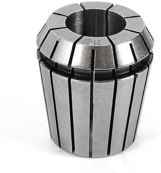 YIYIBY 23 tlg Spannzangenfutter Set /Ø 4-26mm Anzugsgewinde Spannzangen Set CNC Bohrfutter Hochklemmkraft MK4 M16 Anzugsgewinde drehbank zubeh/ör