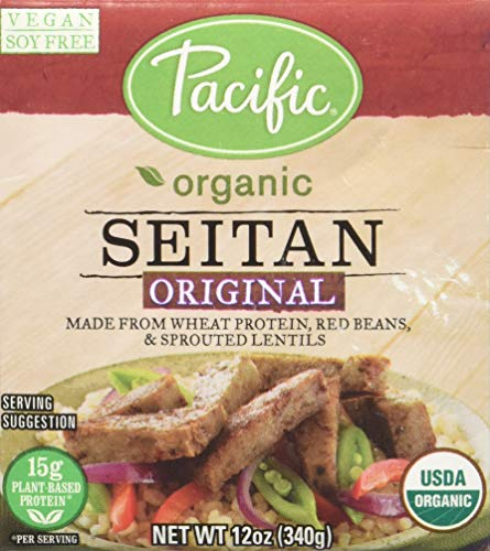 Pacific Foods Organic Seitan, Original, 12 Ounce
