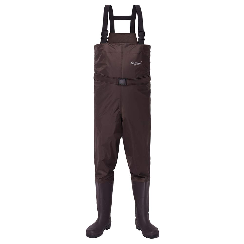OXYVAN Waders Waterproof Lightweight Fishing Waders with Boots