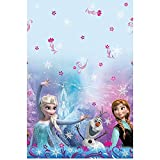 "Disney Frozen Plastic Tablecloth, 84"" x 54"""