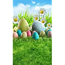 5x7ft Easter theme Natural scenery Vinyl Photography Backdrop Customized Photo Background Studio Prop ZM1274